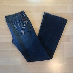 7 for All Mankind Dojo Jeans Size 31